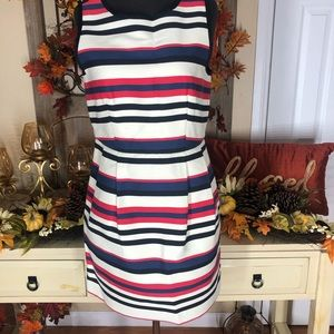J.crew| women's strip short dress